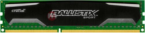 Pamięć Ballistix Sport DDR3 8GB/1600 CL9  (BLS8G3D1609DS1S00)