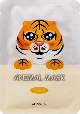 Missha Maseczka do twarzy Animal Mask Tiger przeciwzmarszczkowa