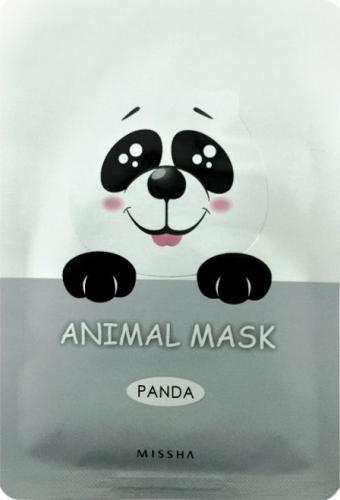 Missha Maseczka do twarzy Animal Mask Panda rozjaśniająca