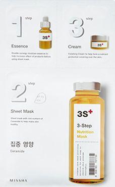 Missha Maseczka do twarzy 3step Nutrition Mask odżywiająca