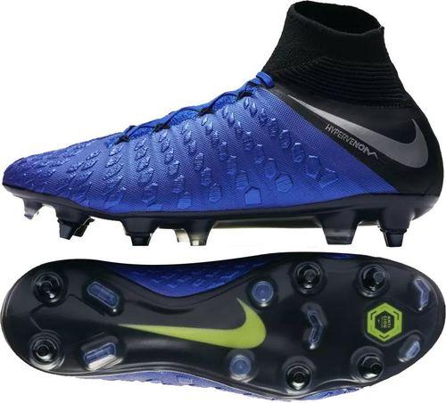 Nike Buty Hypervenom 3 Elite DF SG PRO AC niebieskie r. 42
