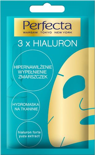 Perfecta HydroMaska 3xHialuron 1 szt.