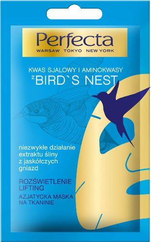 Perfecta Azjatycka Maska na tkaninie Bird's Nest 1 szt