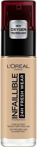 L'Oreal Paris Infallible 24H Fresh Wear Foundation 300 Amber 30ml