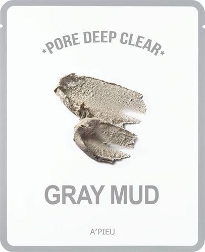Apieu Pore Deep Clear Gray Mud Oczyszczająca maseczka 15g