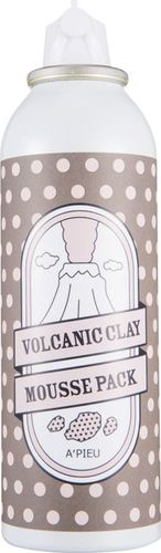 Apieu Volcanic Clay Mousse Pack Maseczka i pianka oczyszczająca 100ml