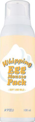 Apieu Whipping Egg Mousse Pack Maseczka i pianka oczyszczająca 100ml