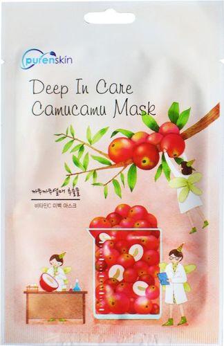 PurenSkin Deep In Care Camucamu Mask Odżywczo-rozjaśniająca maseczka