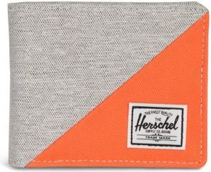Herschel Portfel Herschel Roy RFID Wallet szaro-pomarańczowy [10363-02212]