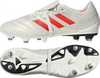 Adidas Buty piłkarskie Copa Gloro 19.2 SG białe r. 40 2/3 (G28989)