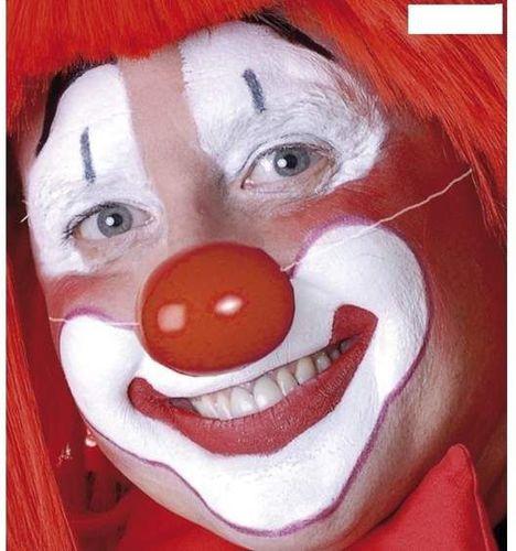 Aster Nos klauna plastikowy na gumkę do zabawy dla dzieci