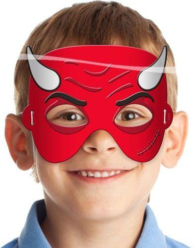 Folat Maska diabeł - przebrania i dodatki dla dzieci