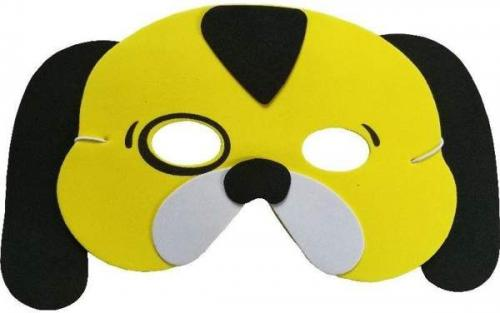 Aster Maska piankowa dla dzieci - piesek (308845-uniw)