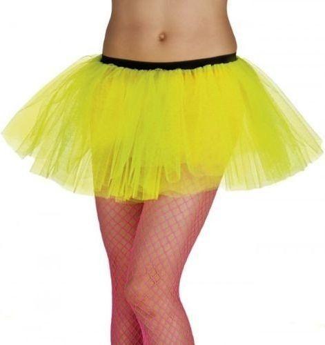 Aster Spódniczka baletnicy tiulowa - żółta neon - stroje/przebrania dla dorosłych