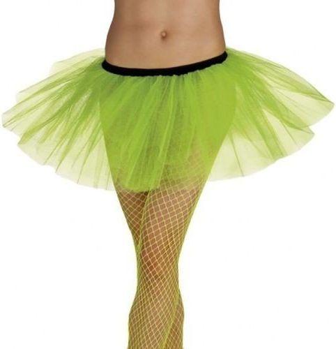 Aster Spódniczka baletnicy tiulowa - zielona neon - stroje/przebrania dla dorosłych