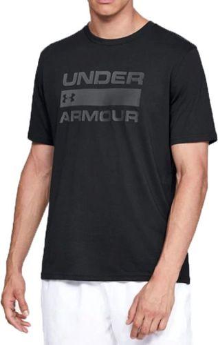 Under Armour Koszulka męska Team Issue Wordmark SS Tee czarna r. XXL (1329582-001)