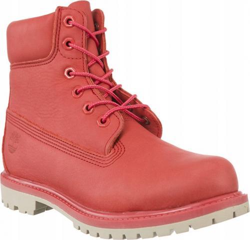 "Timberland 6"" IN PREMIUM BOOT AQK czerwone r. 38"
