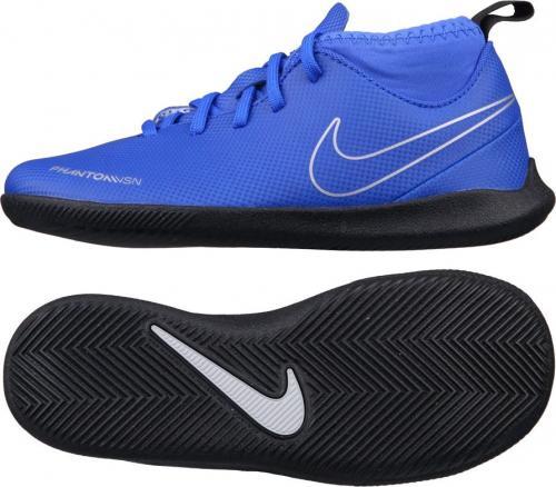 Nike Buty piłkarskie JR Phantom VSN Club DF IC niebieskie r. 37.5 (AO3293-400)