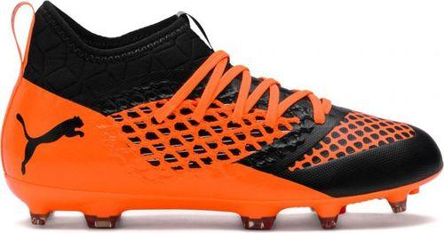 Puma Buty piłkarskie Future 2.3 NETFIT FG AG Color Sh Jr czarno-pomarańczowe r. 37 (104836 02)