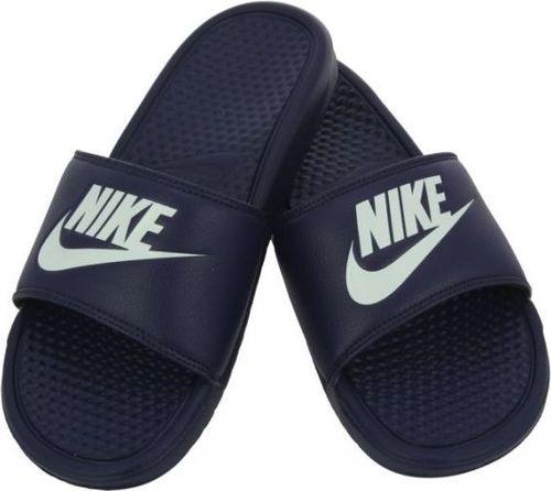 Nike Klapki męskie Sportswear Benassi granatowe r. 46 (343880 403)