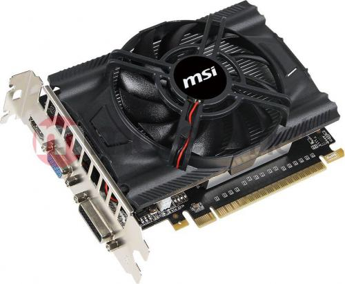 Karta graficzna MSI GeForce GTX 650, 1GB DDR5 (128 Bit), HDMI, DVI (N650-1GD5/OCV1)