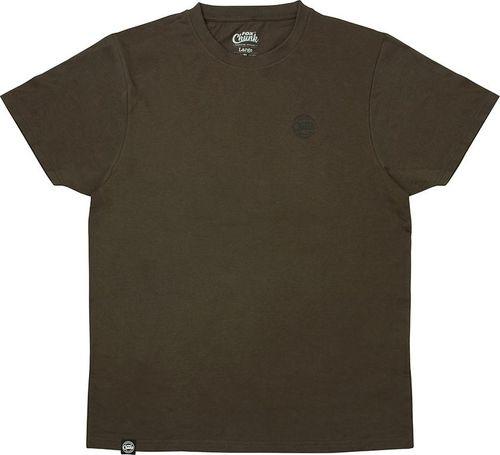 FOX Chunk dark khaki classic T-shirt roz. XL (CPR936)