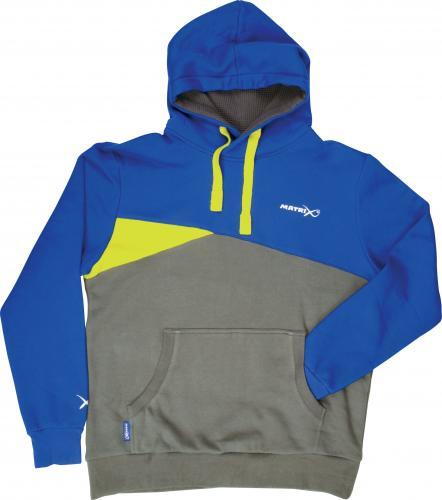 Fox Matrix Blue/Grey Hoody - roz. XL (GPR082)