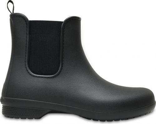 Crocs Kalosze damskie Freesail Chelsea Boot black/black r. 39.5