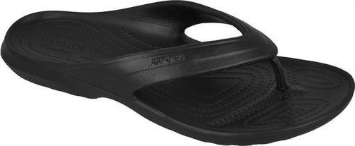 Crocs klapki Classic Flip czarne r. 39-40
