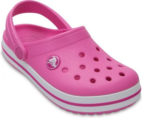 Crocs buty dziecięce Crocband Clog party pink r. 26