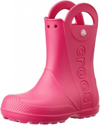 Crocs buty dziecięce Handle Rain Boot candy pink r. 27 (12803)