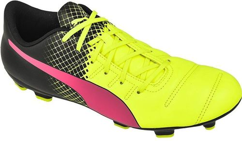 Puma Buty piłkarskie evoPOWER 4.3 FG Tricks M czarno-żółte r. 41 (10358501)