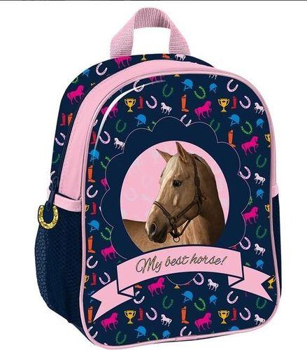 Paso Plecak Horse granatowo-różowo (PPKM18-303)