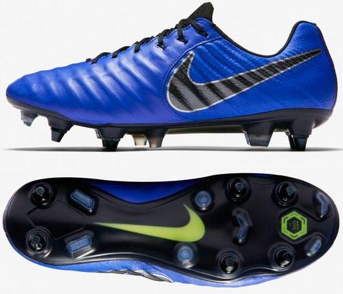 Nike Buty Tiempo Legend 7 Elite SG Pro AC AR4387 400 niebieskie, rozmiar 43