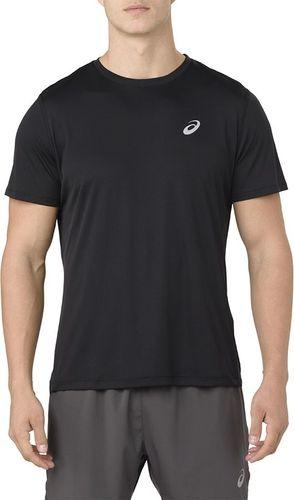 Asics Koszulka męska Silver czarna r. M (2011A006)
