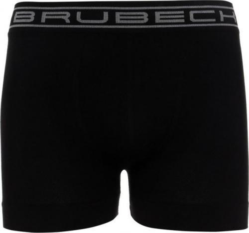 Brubeck Bokserki męskie zestaw 3 szt. Classic Comfort Cotton czarny/granatowy/szary r. L (BX00501A)