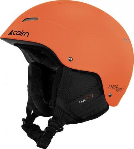CAIRN  Kask narciarski Android J pomarańczowy r. 54/56