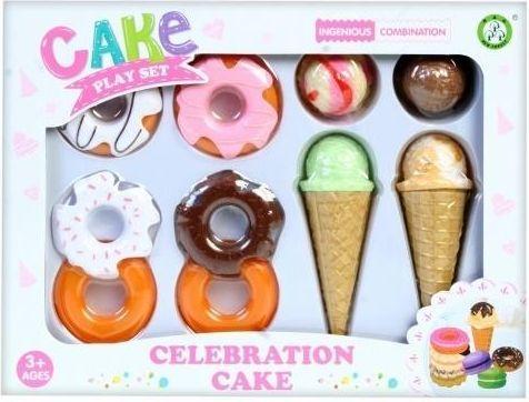 MEGA CREATIVE Zestaw urodzinowy ciastka
