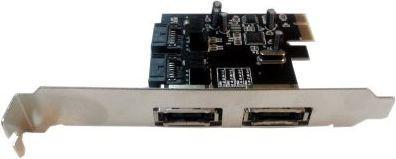 Kontroler Unitek Kontroler PCI-E 2x SATA III wewn./zew.