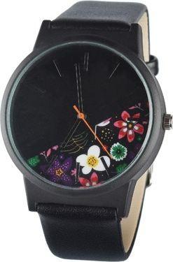 Zegarek GSM City damski wiosenny czarny