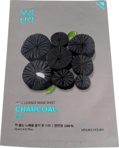 Holika Holika Pure Essence Mask Sheet-Charcoal 1 szt.