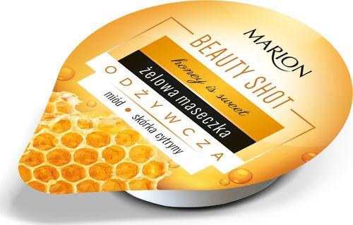 Marion Beauty Shot Honey is Sweet Żelowa maseczka odżywcza 10ml