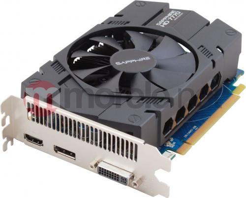 Karta graficzna Sapphire Radeon HD 7770 GHz Edition 1G DDR5 (128 Bit), HDMI, DP, DVI, LITE (11201-17-20G)