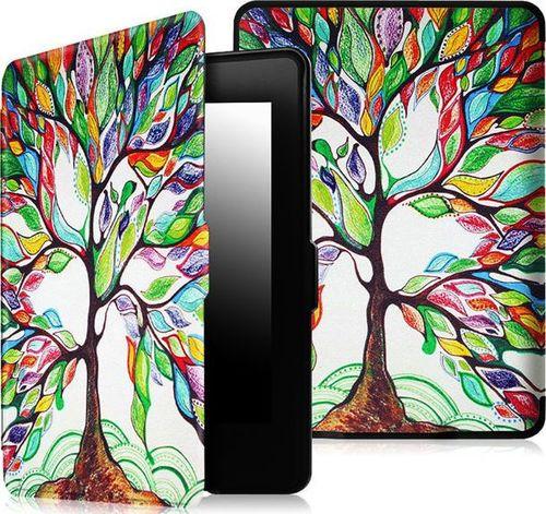 Pokrowiec Alogy Etui Alogy Smart Case Kindle Paperwhite 1/2/3 Kolorowe drzewko uniwersalny