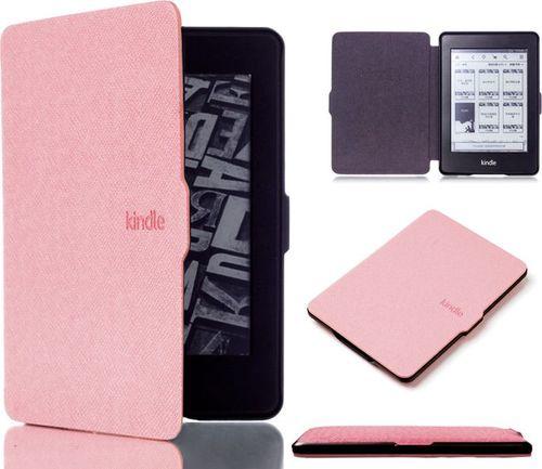 Pokrowiec Alogy Etui Alogy Smart Case Kindle Paperwhite 1/2/3 Różowe uniwersalny