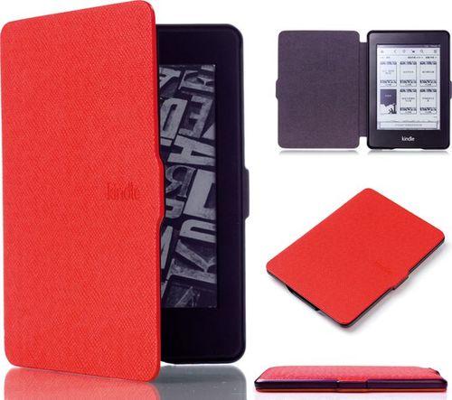 Pokrowiec Alogy Etui Alogy Smart Case Kindle Paperwhite 1/2/3 Czerwone uniwersalny