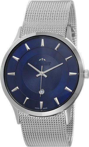 Zegarek Bisset BSDE47 SIDX 03BX męski srebrny
