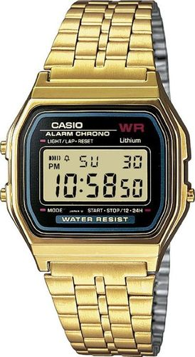 Zegarek Casio A159WGEA-1EF Retro unisex złoty
