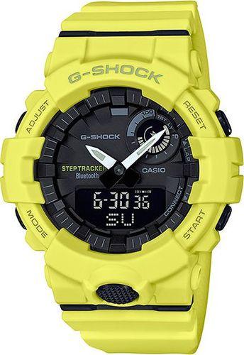 Zegarek Casio G-Shock G-SQUAD GBA-800-9AER męski żółty