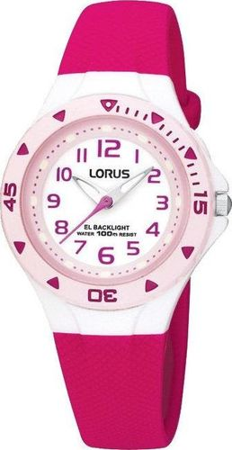 Zegarek Lorus R2339DX9 damski różowy